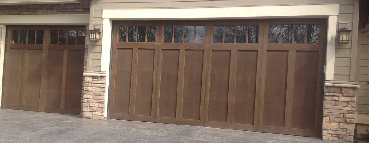 Offering a Wide Variety of Residential Garage Doors